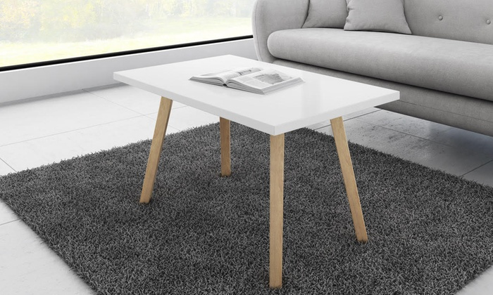 Table basse au style scandinave groupon Table basse scandinave groupon