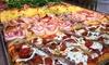 Una o 2 teglie di pizza d'asporto