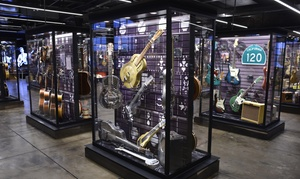 Up to 41% Off Admission at Songbirds Guitar Museum at Songbirds Guitar Museum, plus 6.0% Cash Back from Ebates.
