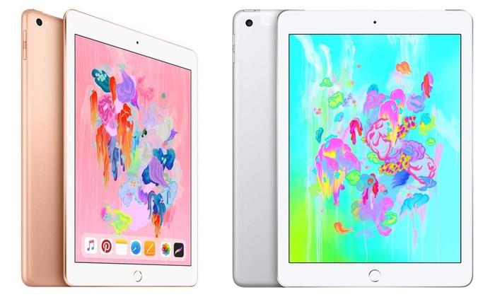 TitoloApple iPad 128 GB nuovo disponibile in 2 colori e con spedizione gratuita