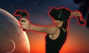 """מציאות מדומה TRIGGER: משימה בלתי אפשרית VR, מסע מטורף של מציאות מדומה בלב ת""""א! החל מ-115 ₪ לכניסה זוגית לחדר העתידני. 7 ימים בשבוע"""