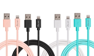 Vectr Apple Certified Lightning Charge & Sync Cable (3, 6, or 10Ft.)