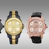 JBW Jet Setter Men's Five Time Zone Swiss Watch