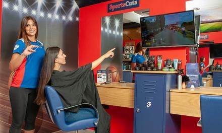 Sesión de peluquería para mujercon opción a tinte y/o mechas desde 12,99 € en Sportscuts