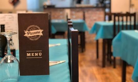 Menú italiano para 2 o 4 personas con entrante, principal, postre y bebida en Pizzaña (hasta 50% de descuento)
