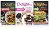 1-Year, 6-Issue Subscription to Delight Gluten Free Magazine