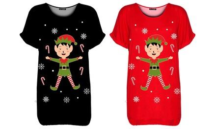 Christmas Candy Elf T-Shirt