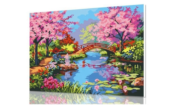 Paint By Numbers Art Kit Groupon Goods