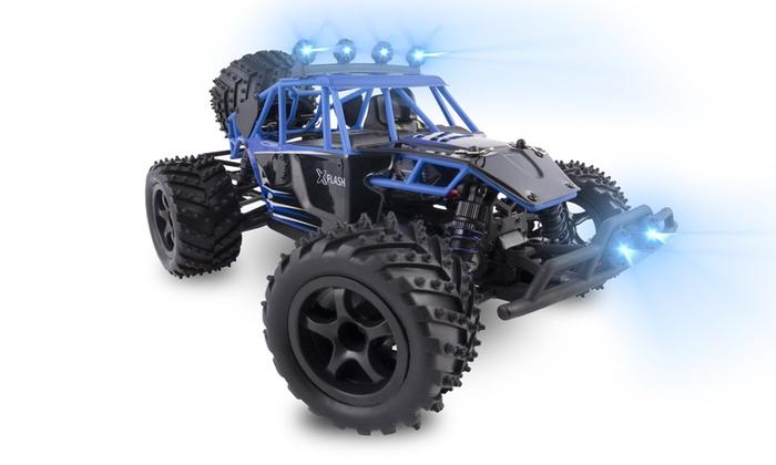 TitoloMacchina Overmax X-Flash RC Buggy radiocomandata con velocità fino a fino a 45 km/h e con spedizione gratuita
