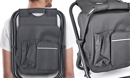 Folding Chair Cooler Backpack for AED 99