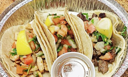 $16 for Four Groupons, Each Good for $8 of Food at           Sandwich Time Deli & Tex Mex ($32 Value)