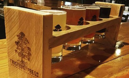 <strong>Brewery</strong> Package for Two or Four at Twisted Cypress Brewing Company (Up to 36% Off)