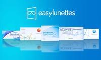 Bon dachat dune valeur de 30 € à valoir sur les lentilles sur le site Easylunettes à 15 €