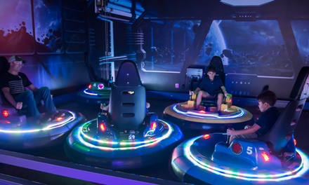 One- or Two-Hour Unlimited Attraction Pass at FunDimension Family Entertainment Center (Up to 19% Off)