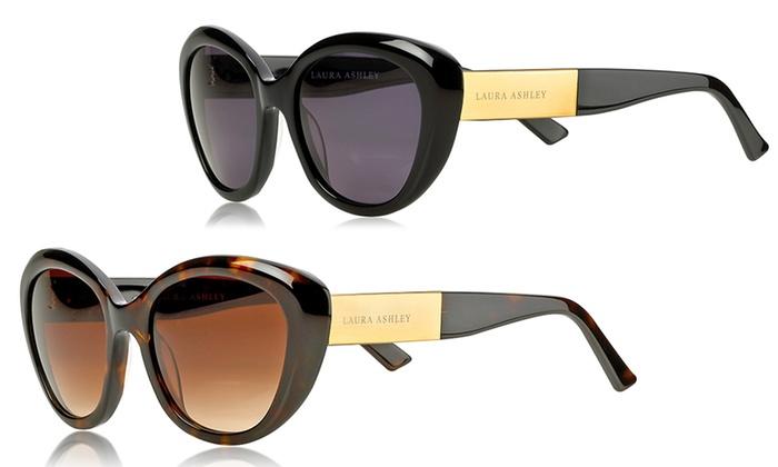 Laura Ashley Women's Cat Eye Sunglasses