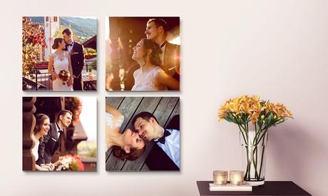 Foto-lienzo cuadrado personalizable en diferentes tamaños a elegir desde 1,99 € con Printer Pix