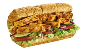 Subway: Five Six- or 12-Inch Subs at Subway (Up to 47% Off)