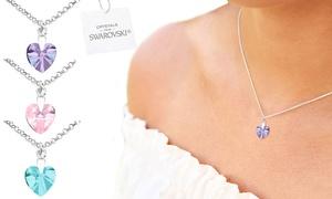 Collier avec pendentif Ah! Jewellery® orné de cristaux Swarovski®