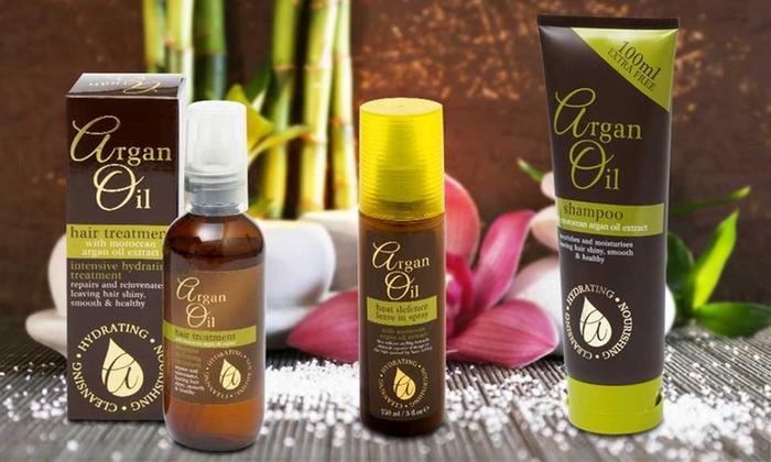 Set cura capelli olio d'Argan