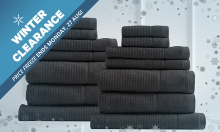 WINTER CLEARANCE: 2Piece $35, 7Piece $45, 4Piece $59 or 14Piece $75 600GSM Egyptian Cotton Towel Sets