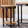 Abbyson Living Industrial End Tables (Set of 2)