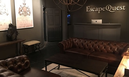 Escape-Room Adventure for Two, Four, or Six at Escape Quest (Up to 38% Off)