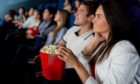 2, 4 o 6 entradas individuales al cine con opción a refresco y palomitas desde 9,95 € en Cines Teatro Goya