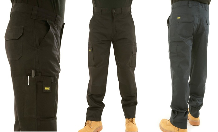 Men's MIG Cargo Work Trousers for £10
