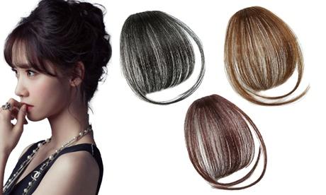 1 o 2 extensiones de pelo para flequillo