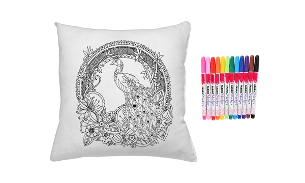 Up to Four Graffiti Pillow Covers with