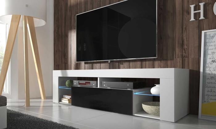 tv schrank groupon goods. Black Bedroom Furniture Sets. Home Design Ideas