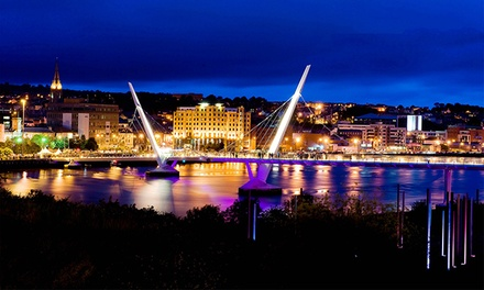 Londonderry: 13 Nights for Two with Breakfast, Dinner, Wine, Leisure Access and Late CheckOut at 4* City Hotel Derry