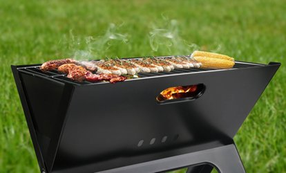 Shop Groupon Foldable Portable BBQ Grill