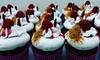Cupcakes, macarons én warme dranken naar keuze.