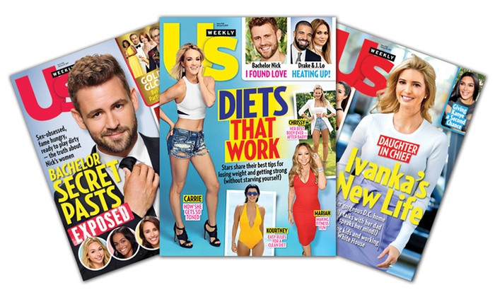 """Us Weekly: One-Year, 52-Issue Subscription to """"Us Weekly"""" (51% Off)"""