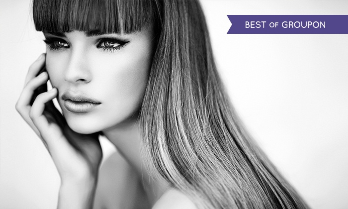 Shine Hair & Beauty - Exeter: Cut and Blow-Dry with Conditioning Treatment and Optional Half-Head Highlights at Shine Hair & Beauty (Up to 68% Off)