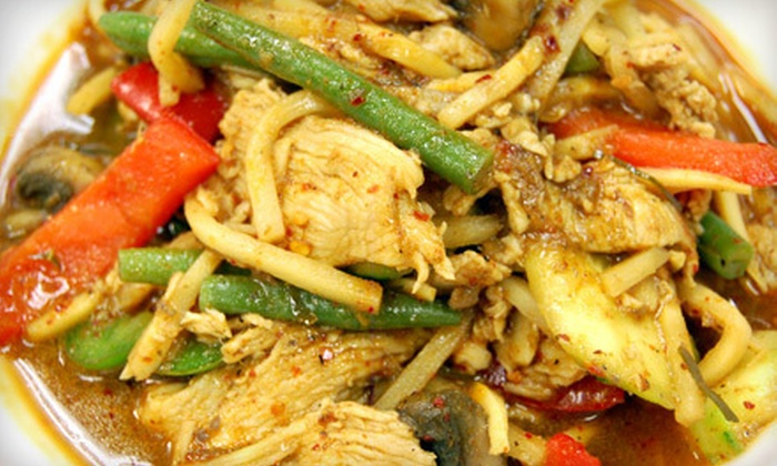 Thai Herb Authentic Thai Cuisine - High Point: $15 for $30 Worth of Thai Fare for Dinner at Thai Herb Authentic Thai Cuisine in High Point