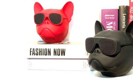 Cassa Speaker Bluetooth Portatile Bulldog Francese PMS International