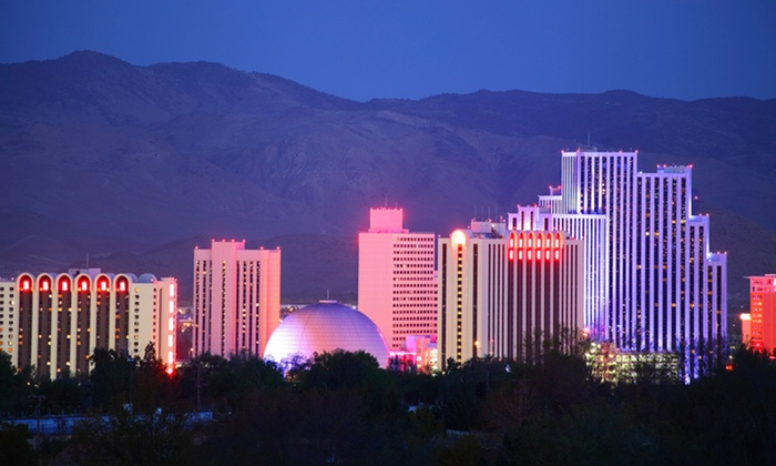 Ramada Reno Hotel & Casino - Reno: One- or Two-Night Stay with Options for Breakfast, Casino Coupon Book, and Match Play at Ramada Reno Hotel & Casino