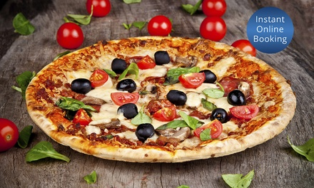 Italian Feast with Wine for Two $39, Four $78 or Eight People $156 at Manly Pizza & Wine Up to $364 Value