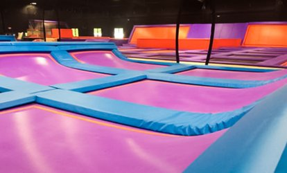 Up to 50% Off Jump Passes at Surge Trampoline Park