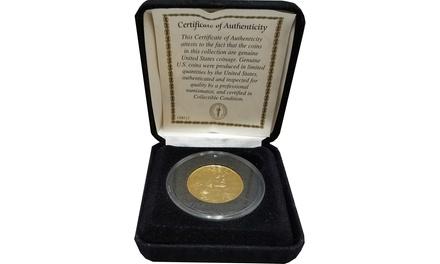 2010 Sacagawea Dollar 24K Gold Plated