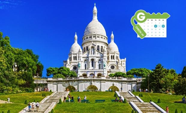 Hôtel Carlton's - Paris: Paris : Chambre double Classique ou Deluxe, petit déjeuner et boisson en option au Carlton's Montmartre 4* pour 2 pers.