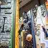 Climbing Wall: Child (£5) or Adult (£7)