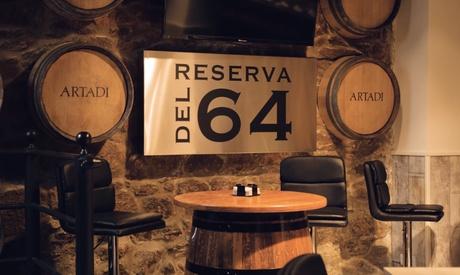 Degustación de 1 o 2 botellas de vino con maridaje de raciones para 2 o 4 personas en Reserva del 64