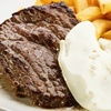 Steak, Egg and Chips for Two