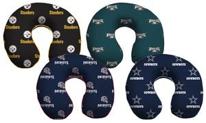 NFL Memory Foam Travel Pillow