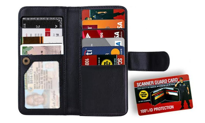 f72c8534e388 Up To 50% Off on Scanner Guard Protection Wallet   Groupon Goods