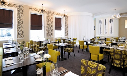 TwoCourse British Meal for Two or Four at Dolphin Hotel