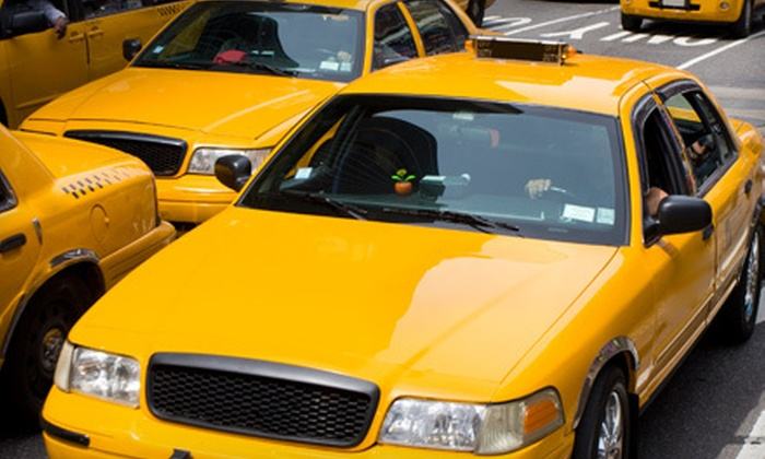 ABCD TAXI - Sloan: 3, 5, or 10 Taxi-Fare Vouchers from ABCD Taxi (Up to 55% Off)
